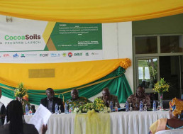 CocoaSoils - Program Launch in Ghana